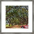 American Dream Drive 2 Framed Print