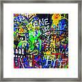 American Graffiti 15 - Crack Head Framed Print