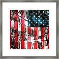 American Heroes Framed Print