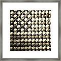 American Pastime In Sepia Framed Print