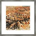 Amphitheatre At Bryce Canyon Framed Print