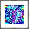 Amplified Flower Framed Print