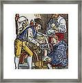Amputation, 1540 Framed Print