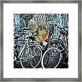 Amsterdam Icons Framed Print