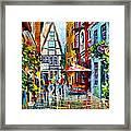 Amsterdam Street Framed Print