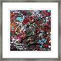 An Angry Moment Framed Print