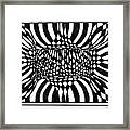An Optical Illusion Framed Print