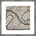 Ancient Mosaic Framed Print