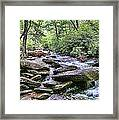 ...and The Creek Don't Rise Framed Print