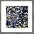 And The Grasshopper Says.. Owl Be Seeing U Framed Print