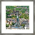 Andorra La Vella City Framed Print