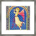 Angel Blowing Trumper Framed Print