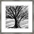 Angry Tree Framed Print