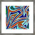 Anguished Love Framed Print by Kenneth James