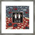 Animals And Love Framed Print