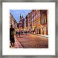 Another Prague Night - Czech Republic Framed Print
