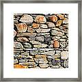 Another Stone In The Wall Framed Print