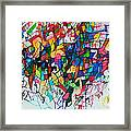Answers According To The Halacha 2 Framed Print