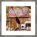 Antique Building At The Techatticup Gold Mine Framed Print