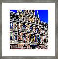 Antwerp's City Hall Framed Print