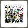 Apocalypse In Paradise 2  Framed Print