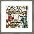 Apothecary Shop, 1500 Framed Print