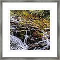 Appalachian Mountain Waterfall Framed Print
