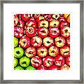 Apples And Oranges Framed Print