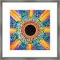 Apus Iris Constellation Framed Print