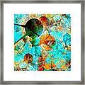 Aquarium 612-12-13 Marucii Framed Print
