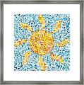Aqueous Sol Ocean  Framed Print