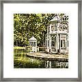 Aranjuez Park Lake Framed Print