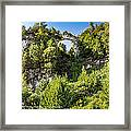 Arch Rock Mackinac Island Michigan Framed Print