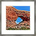 Arches National Park Painting Framed Print