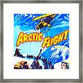 Arctic Flight, Us Poster, From Left Framed Print