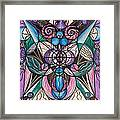 Arcturian Healing Lattice  Framed Print