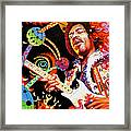 Jimi Hendrix Are You Experienced Framed Print