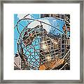 Around The World In Nyc Framed Print