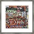 Art Alley Framed Print