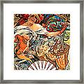 Art Nouveau Biscuit Ad 1897 Framed Print
