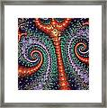 Artifact Under The Sea Framed Print