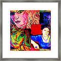 Artist Self Portrait Framed Print