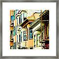 Asia Town Framed Print