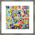 at the age of three years Avraham AVine recognized his Creator 5 Framed Print