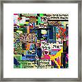Atomic Bomb Of Purity 2c Framed Print by David Baruch Wolk