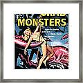Attack Of The Crab Monster 1957  Framed Print