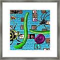 Attack Of The Giant... Framed Print
