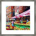 Atwater Market   Framed Print