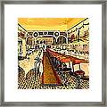 Atwood's Restaurant In Venice Ca In 1920 Framed Print