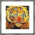 Auburn Tiger Framed Print
